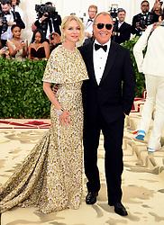 Naomi Watts attending the Metropolitan Museum of Art Costume Institute Benefit Gala 2018 in New York, USA.