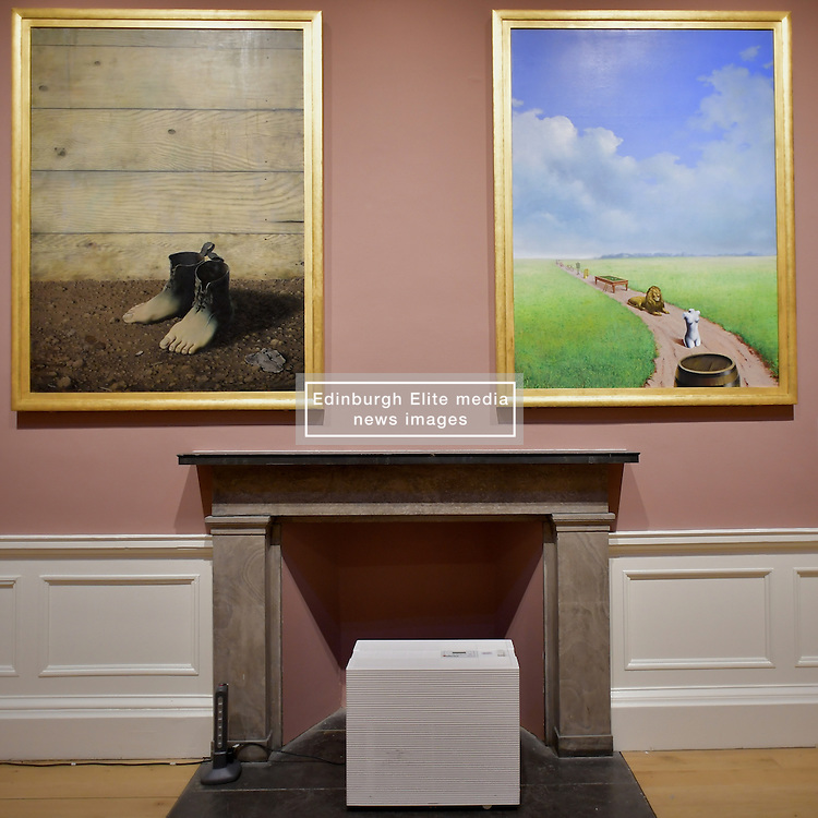 The Red Model III, René Magritte, Rene Magritte, Youth Illustrated, Scottish National Gallery of Modern Art  (Modern One) Surreal Encounters Collection, Edinburgh, 2nd June 2016, <br /> (c) Brian Anderson   Edinburgh Elite media