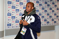 AFC Wimbledon midfielder Jimmy Abdou (8) arriving during the The FA Cup 3rd round match between Tottenham Hotspur and AFC Wimbledon at Wembley Stadium, London, England on 7 January 2018. Photo by Matthew Redman.