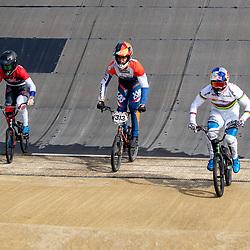 30-08-2020: Wielrennen: BMX - Road to Tokyo & WK 2021: Papendal<br /> Twan van Gendt, Niek Kimman, Laura Smulders