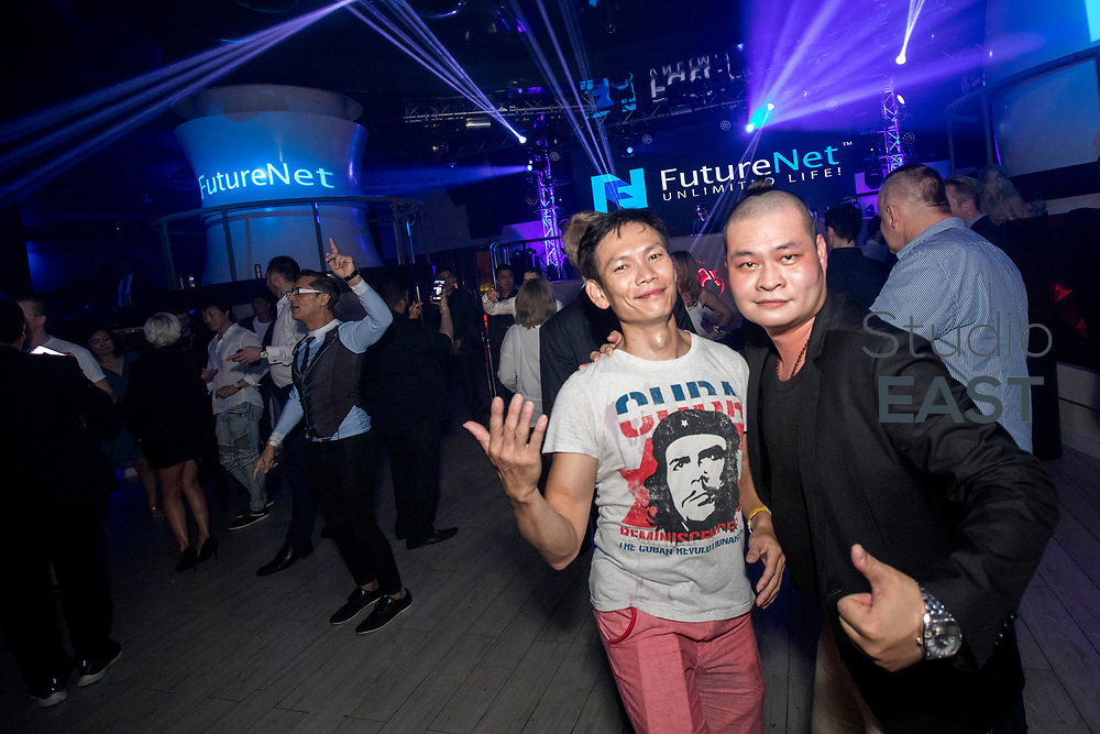 VIP after-party at the conclusion of the FutureNet World Convention in Studio City Event Center, Macau, China, on 26 November 2017. Photo by King Chung Fung/Studio EAST