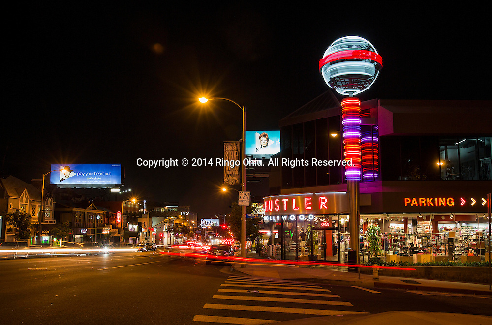 Hustler Store at 8920 W Sunset Blvd. in West Hollywood.<br /> (Photo by Ringo Chiu/PHOTOFORMULA.com)
