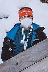 31.12.2020, Olympiaschanze, Garmisch Partenkirchen, GER, FIS Weltcup Skisprung, Vierschanzentournee, Garmisch Partenkirchen, Qualifikation, Herren, im Bild FIS Renndirektor Sandro Pertile // FIS Renndirektor Sandro Pertile during qualification jump of men's Four Hills Tournament of FIS Ski Jumping World Cup at the Olympiaschanze in Garmisch Partenkirchen, Germany on 2020/12/31. EXPA Pictures © 2020, PhotoCredit: EXPA/ JFK