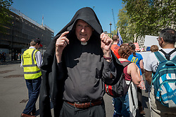 May 5, 2018 - London, UK - Hundreds of people joined March for Life today as counter protest against pro-abortion demo. The marches come just weeks ahead of a referendum in Ireland on the eighth amendment. (Credit Image: © Velar Grant via ZUMA Wire)