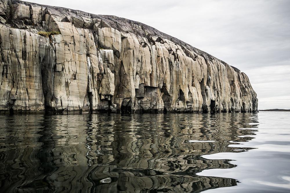 Kayaking near Bluff Island