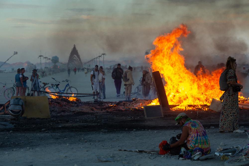 Remnants of the Man Burn 2015