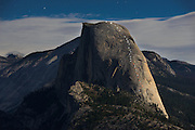 On August 29, 2015 Chris McNamara and Megan Sullivan climbed Yosemite's Half Dome, illuminating the route called Snake Dike with LED lanterns to commemorate the 18th anniversary of the American Safe Climbing Association. The ASCA, started by McNamara, has replaced more than 14,000 old bolts across the U.S. and beyond, including those on Snake Dike. The pair used red lights to indicate the premanent bolts, while white lights mark the route. After climbing to the summit of the Sierra's most famous icon the two rappelled back to the ground, removing the lights as they descended.