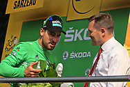 Peter Sagan (SVK - Bora - Hansgrohe) Green Jersey during the Tour de France 2018, Stage 4, Team Time Trial, La Baule - Sarzeau (195 km) on July 10th, 2018 - Photo Ilario Biondi / BettiniPhoto / ProSportsImages / DPPI