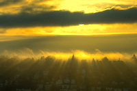 Foggy Sunrise over Queen Anne