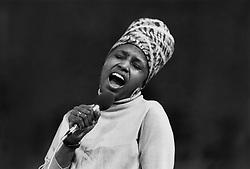 Miriam Makeba  Singer & Human Rights Activist   01 May 1969     Date: 01-May-69 (Credit Image: © Mary Evans via ZUMA Press)