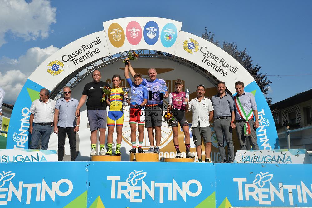 51° COPPA D'ORO - Sabato 8 settembre 2018 Coppa di sera - ESORDIENTI UOMINI I° ANNO – Km 28.7 <br /> 08.9.2018.<br /> Borgo Valsugana, Trentino, Italia.<br /> © DANIELEMOSNA.IT