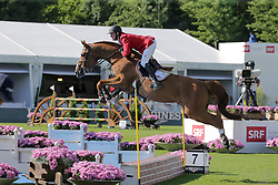 Bruynseels Niels, (BEL), Pommeau Du Heup<br /> Furusiyya FEI Nations CupTM presented by Longines<br /> CSIO Sankt Gallen 2015<br /> © Hippo Foto - Stefano Secchi<br /> 05/06/15