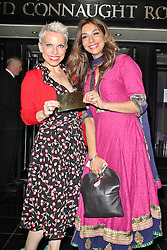 © London News Pictures. 25/06/2013. London, UK.  Sue Devaney & Shobna Gulati  at the Charlie and the Chocolate Factory - Opening Night After Party . Photo credit: Brett D. Cove/LNP