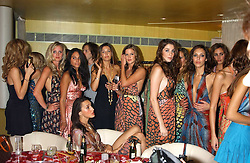 Models at a fashion show by ISSA held at Cocoon, 65 Regent Street, London on 21st September 2005.<br /><br />NON EXCLUSIVE - WORLD RIGHTS