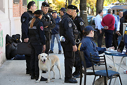 May 4, 2017 - Buenos Aires, Buenos Aires, Argentina - Three criminals with firearms and a hand grenade were detained in the neighborhood of Villa Crespo. Police believe that the group of criminals engaged in extortion kidnappings. (Credit Image: © Claudio Santisteban via ZUMA Wire)