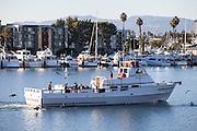 Sailing At Marina Del Rey Harbor