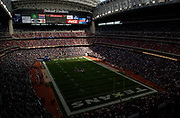 General overall view of Reliant Stadium (NRG Stadium) with the roof open during an NFL football game between the Tennessee Titans and the Houston Texans, Sunday, Dec. 21, 2003, in Houston.