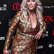 Danielle Mason Arrivers at Once Upon a Time in London - London premiere of the rise and fall of a nationwide criminal empire that paved the way for notorious London gangsters the Kray Twins and the Richardsons at The Troxy 490 Commercial Road, on 15 April 2019, London, UK.