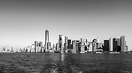 NEW YORK  2020V10<br /> Manhattan Skyline från båten till Liberty Island.<br /> <br /> Foto: Per Danielsson/Projekt.P
