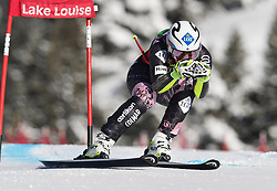03.12.2017, Lake Louise, CAN, FIS Weltcup Ski Alpin, Lake Louise, Super G, Damen, im Bild Tina Weirather (LIE) // Tina Weirather of Liechtenstein in action during the ladie's Super G of FIS Ski Alpine World Cup in Lake Louise, Canada on 2017/12/03. EXPA Pictures © 2017, PhotoCredit: EXPA/ SM<br /> <br /> *****ATTENTION - OUT of GER*****