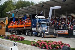 Team voorstelling WEG Tryon<br /> Nederlands Kampioenschap Dressuur <br /> Ermelo 2018<br /> © Hippo Foto - Dirk Caremans<br /> 29/07/2018