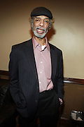 Gil Scott backstage at Gil Scott Heron Produced by Jill Newman Productions and held at BB King on November 4, 2009 in New York City