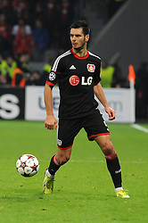 27.11.2013, BayArena, Leverkusen, GER, UEFA CL, Bayer Leverkusen vs Manchester United, Gruppe A, im Bild Emir Spahic ( Bayer 04 Leverkusen / Freisteller ) // during UEFA Champions League group A match between Bayer Leverkusen vs Manchester United at the BayArena in Leverkusen, Germany on 2013/11/28. EXPA Pictures © 2013, PhotoCredit: EXPA/ Eibner-Pressefoto/ Thienel<br /> <br /> *****ATTENTION - OUT of GER*****