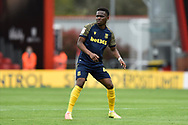 Rabbi Matondo (49) of Stoke City during the EFL Sky Bet Championship match between Bournemouth and Stoke City at the Vitality Stadium, Bournemouth, England on 8 May 2021.