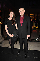 The Bishop of London RICHARD CHARTRES and his daughter CLIO CHARTRES at the opening of the Victoria & Albert Museum's latest exhibition 'Grace Kelly: Style Icon' opened by His Serene Highness Prince Albert of Monaco at the V&A on 15th April 2010.