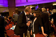 ED VICTOR AND ESTHER FREUD, The Galaxy British Book Awards hosted by Richard Madeley and Judy Finigan. Grosvenor House. Park Lane. London. 9 April 2008. *** Local Caption *** -DO NOT ARCHIVE-© Copyright Photograph by Dafydd Jones. 248 Clapham Rd. London SW9 0PZ. Tel 0207 820 0771. www.dafjones.com.