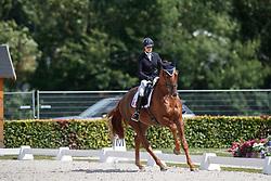 Thouvenin Lena, FRA, Diamondgio<br /> Longines FEI/WBFSH World Breeding Dressage Championships for Young Horses - Ermelo 2017<br /> © Hippo Foto - Dirk Caremans<br /> 04/08/2017