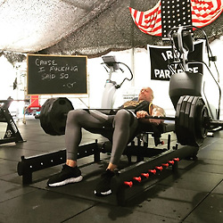 "Dwayne Johnson releases a photo on Instagram with the following caption: ""Gettin\u2019 stronger - progress thru pain. \n455lbs barbell glute/hip thrusts with 5 second hold at the top with hip circle above knees for greater glute activation. \nThese small gains for me wind up being big gains in the long run considering the multiple injuries over the years I suffered on the football field and in the wrestling ring. \nTore both my quadricep \u0026 adductor tendons off my pelvis.\nFive knee surgeries.\nTorn Achilles\u2019 tendon.\nTriple hernia (emergency) surgery. \nUpper body I\u2019ve been a pretty lucky SOB over the years having had just one total reconstruction surgery done on my shoulder when I shredded everything. \nWaist up, I\u2019m Superman... Waist down, I\u2019m Bionic Man \ud83d\ude09*inserts cheesy joke. \nIf you\u2019re going thru injuries or set backs \u2014 stay focused, listen to your body and let pain be your guide to come back stronger and better. \nRemember any and all progress, physical or mental - will always come thru pain. \n#ProgressThruPain #IronParadise #CauseIFuckingSaidSo \ud83d\ude08\ud83d\udcaa\ud83c\udffe\nBrotha @c.t.ali.fletcher"". Photo Credit: Instagram *** No USA Distribution *** For Editorial Use Only *** Not to be Published in Books or Photo Books ***  Please note: Fees charged by the agency are for the agency's services only, and do not, nor are they intended to, convey to the user any ownership of Copyright or License in the material. The agency does not claim any ownership including but not limited to Copyright or License in the attached material. By publishing this material you expressly agree to indemnify and to hold the agency and its directors, shareholders and employees harmless from any loss, claims, damages, demands, expenses (including legal fees), or any causes of action or allegation against the agency arising out of or connected in any way with publication of the material."