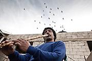 Playing the Khallool - Borj El Barajneh Camp
