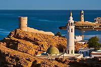 Sultanat d'Oman, gouvernorat de Ash Sharqiyah, le port de Sur, le village de pêcheurs de Ayjah // Sultanate of Oman, Al Sharqiya Region, Ayjah harbour in Sur
