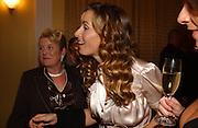 Gordon Ramsay's mother Ellen Cosgrove and Tana Ramsay, Gordon Ramsay book launch party for his autobiography Humble Pie. Claridge's Ballroom, London, W1,3 October 2006. -DO NOT ARCHIVE-© Copyright Photograph by Dafydd Jones 66 Stockwell Park Rd. London SW9 0DA Tel 020 7733 0108 www.dafjones.com