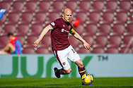 Steven Naismith (#14) of Heart of Midlothian FC during the SPFL Championship match between Heart of Midlothian and Inverness CT at Tynecastle Park, Edinburgh Scotland on 24 April 2021.