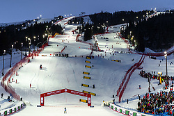 February 8, 2019 - Re, SWEDEN - 190208 General view of the slope at the  women's alpine combination during the FIS Alpine World Ski Championships on February 8, 2019 in re..Photo: Joel Marklund / BILDBYRN / kod JM / 87851 (Credit Image: © Joel Marklund/Bildbyran via ZUMA Press)