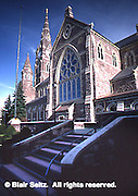 Saint Peter Cathedral, Sassafras Street, constructed in 1873, Erie, Erie Co., PA