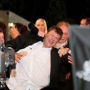 NLD/Eemnes/20080522 - Finale RTL programma de Gouden Kooi, winnaar Jaap Amesz, de uitslag