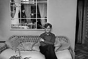 John Fox at home 1980 Ultravox