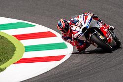 June 1, 2018 - Scarperia, Italy - Danilo Petrucci of Alma Pramac Racing during the 2018 MotoGP Italian Grand Prix Free Practice at Circuito del Mugello, Scarperia, Italy on 1 June 2018. (Credit Image: © Giuseppe Maffia/NurPhoto via ZUMA Press)