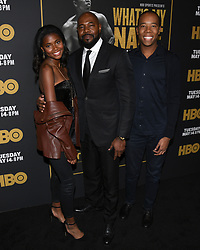 May 8, 2019 - Los Angeles, California, USA - 08, May 2019 - Pasadena, California. Antoine Fuqua attends 'What's My Name | Muhammad Ali' HBO Documentary Premiere at Regal Cinemas LA LIVE 14 in Los Angeles, California. (Credit Image: © Billy Bennight/ZUMA Wire)