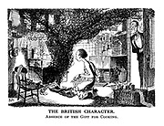 The British Character. Absence of the Gift for Cooking.