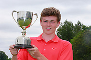 Mark McKinstry (Cairndhu) winner of the Connacht Boys U18 Open, Roscommon Golf Club, Roscommon, Co Roscommon.<br /> Picture: Golffile \ Fran Caffrey
