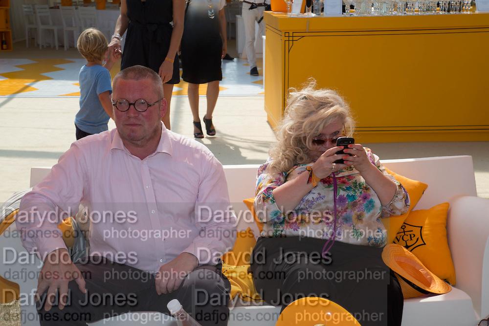 FERGUS HENDERSON; ALEXIS PARR, Veuve Clicquot Gold Cup, Cowdray Park, Midhurst. 21 July 2013