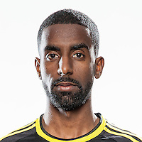 Feb 25, 2016; USA; Columbus Crew player Mohammed Saeid poses for a photo. Mandatory Credit: USA TODAY Sports