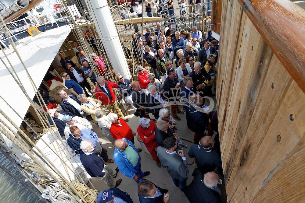 Catering en Partyservice Onder de Luifel verzorgt de catering aan boord van de Tall Ships tijdens Tall Ships Race Harlingen 2014. http://www.onderdeluifel.nl