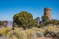 Desert View Watchtower or Indian Watchtower in Grand Canyon National Park.