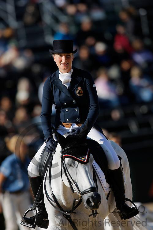 Lara de Liedekerke - Nooney Blue<br /> Alltech FEI World Equestrian Games <br /> Lexington - Kentucky 2010<br /> © DigiShots