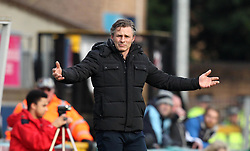 Wycombe Wanderers Manager Gareth Ainsworth - Mandatory byline: Robbie Stephenson/JMP - 27/02/2016 - FOOTBALL - Adams Park - Wycombe, England - Wycombe Wanderers v Bristol Rovers - Sky Bet League Two